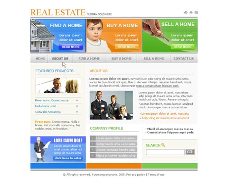 Prime Real Estate template preview 2