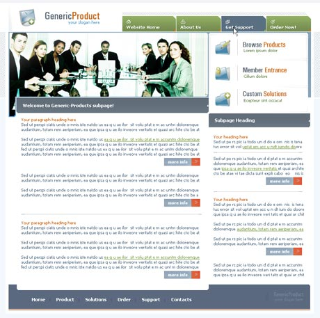 Boardroom Multi template preview 3
