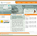 Keyboard Orange Web Template