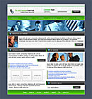 Office Pro Green Website Template