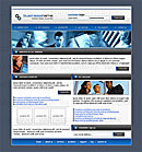 Office Pro Blue Web Template