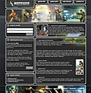 Classic Gamer website template
