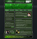 Wired Green Web Template