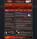 Wired Red Website Template