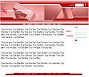 Block Red Web Template