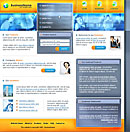 City Steel Orange Web Template