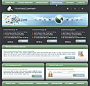 World Host Green Web Template