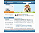 Sunny Day Blue website template