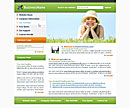 Sunny Day Green Website Template