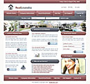 Real Estate Red Website Template