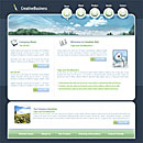 Creative Green Website Template