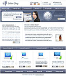 Online Shop Purple Web Template