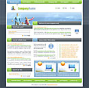 Happy Day Green Website Template