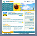 Sunflower Blue Web Template