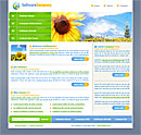 Sunflower Green Website Template