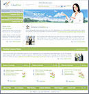 Clean Host Green website template