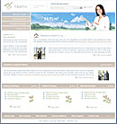 Clean Host Beige Web Template