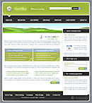 Gear Host Green Web Template