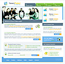 Boardroom Blue web template