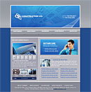Flash Building Blue Website Template