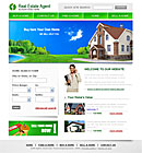 Real Estate Agent Web Template