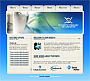 Corporate Security Blue Website Template