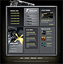 Gamer Club Yellow Website Template