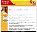 Office Yellow Website Template