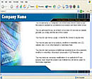 Web Blue Web Template