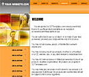 Telephone Orange Web Template