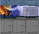 Gears Gray Web Template