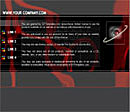 Eye Black Website Template