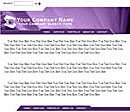 Spotlight Purple Web Template