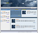 Desktop Blue Web Template