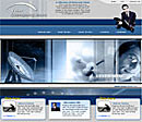 Satellite Dish Blue Web Template