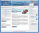 Medical Blue Web Template
