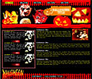 Red Halloween Web Template