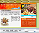 Orange Thanksgiving Web Template