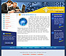Technology Blue Website Template